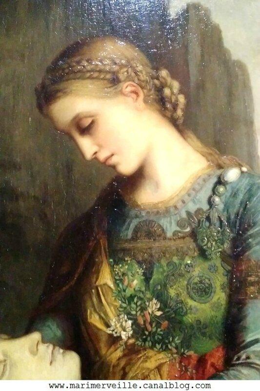Détail Orphée Gustave Moreau - Musee d'orsay - Marimerveille