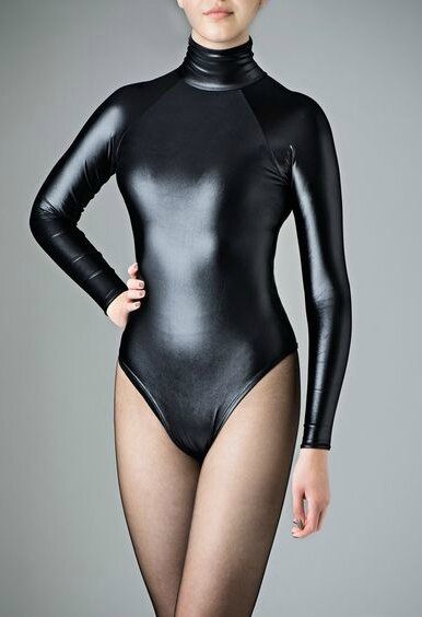 Spandex leotard