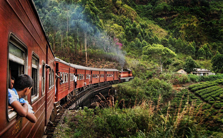 Sri Lanka : voyager en train
