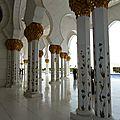 La Grande Mosquée d'Abu Dhabi