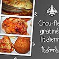 Chou-fleur gratiné à l'italienne