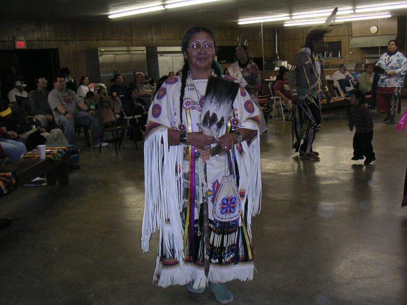 Vanessa à Pawhuska en 2005