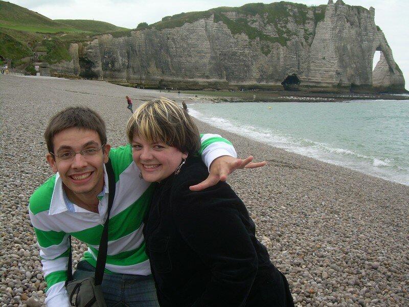 Mes deux grands complices Août 2007
