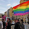 Marseille, manifestation contre la LGBTIphobie