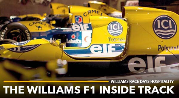 Mug Williams Racing sponsor Hackett London Formula One F1 NOUVEAU Café Thé