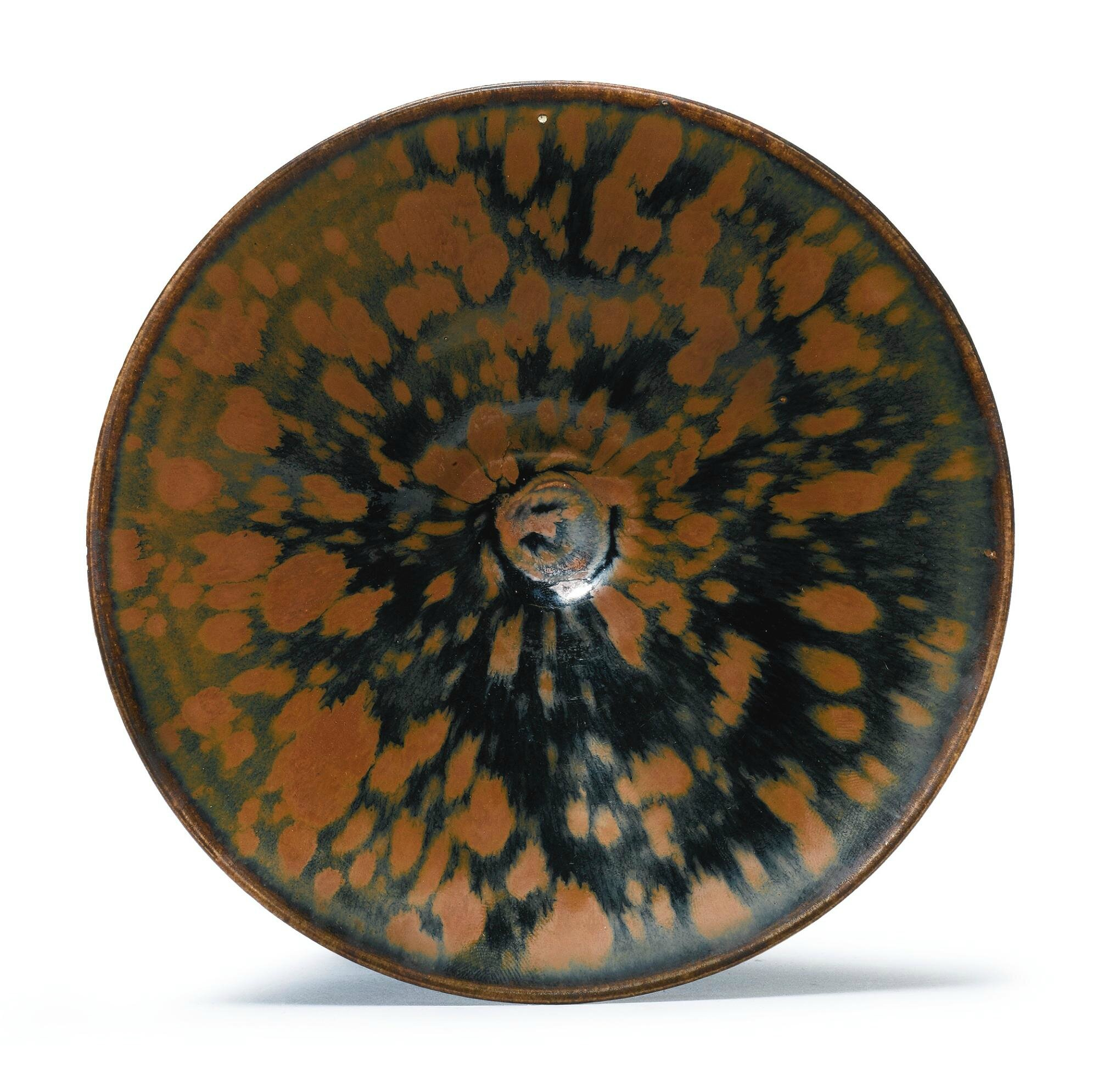 A 'Cizhou' Russet-Splashed Black-Glazed Bowl, Northern Song-Jin Dynasty