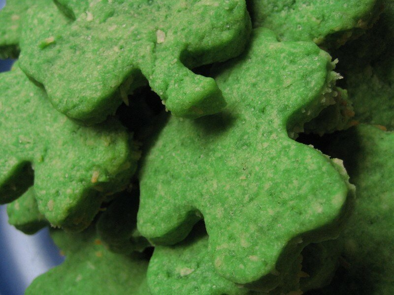 Shamrocks biscuits
