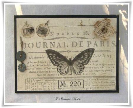 Cadre papillon - Any