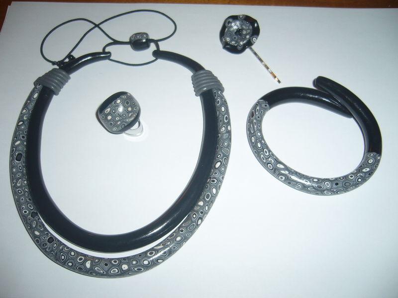 double torque gris noir