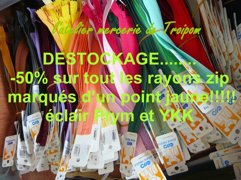 destockage zip