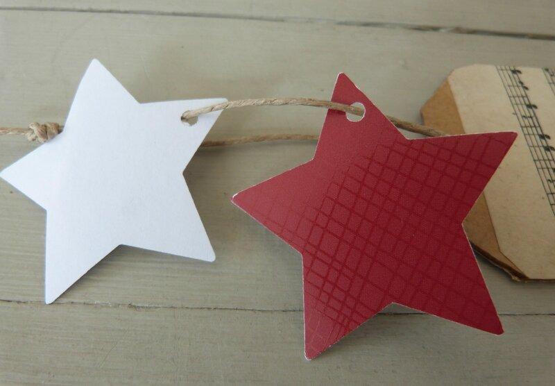 Etiquette Partition étoiles (5)