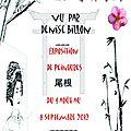 Bibliotheque le fogoet --> expo de peinture : le japon