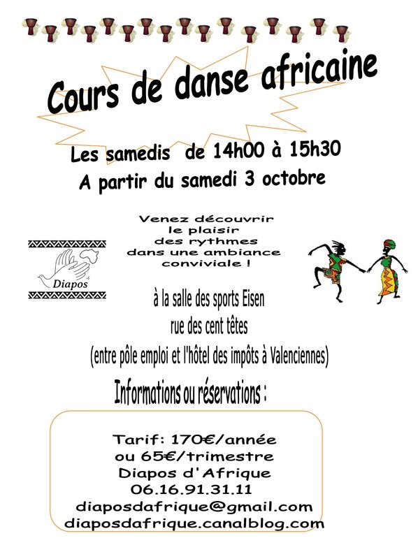 flyers_Stage de danse octobre 2015