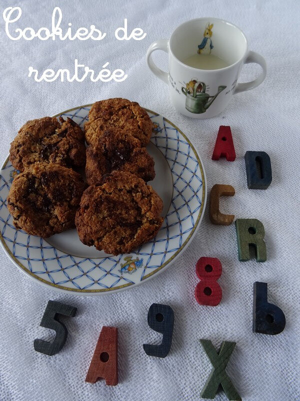 Les Cookies de rentree