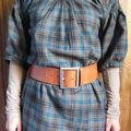 Une blouse en tartan