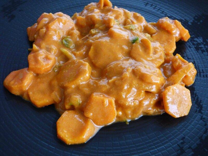 mafé de carottes