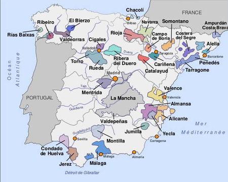 Carte_vignobles_espagnoles