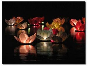 lanternes aqua