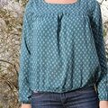 Blouse impatiente