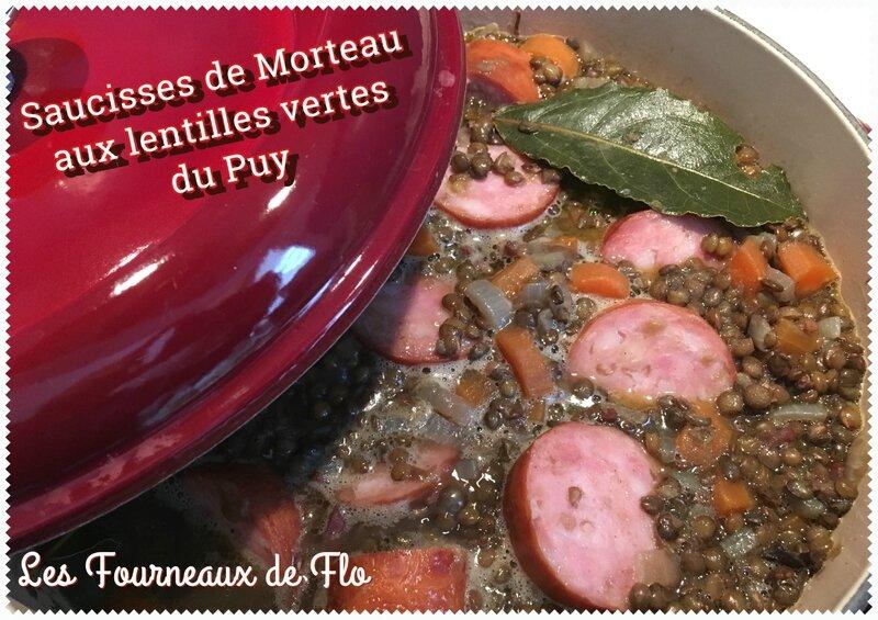 Morteau aux lentilles vertes du Puy- F