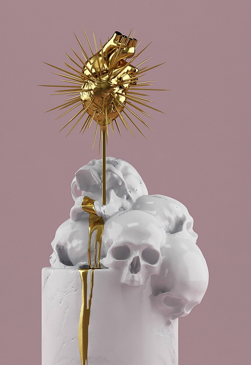 Hedi Xandt, Blood Is The Vessel Of Love, 2014. © 2014 Hedi Xandt