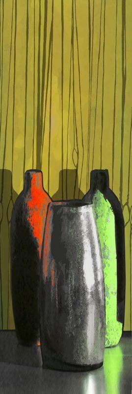 w 3 vases couleurs
