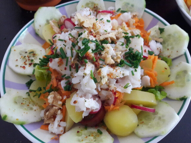 salade de cabillaud-fin d'été (3)
