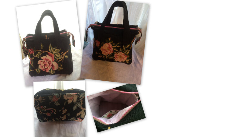 sacs roses