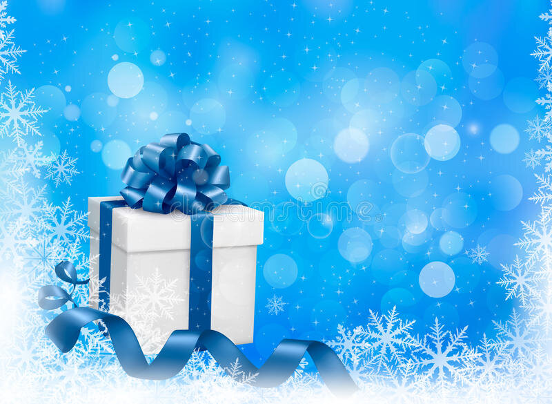 christmas-blue-background-gift-box-snowfl-snowflakes-vector-illustration-34997292