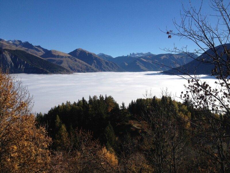 Brouillard dans la vallee