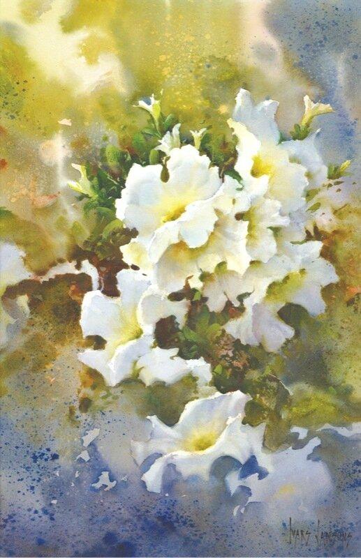 Jansons - Cascading Petunias