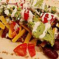 Chili con carne a la joue de boeuf