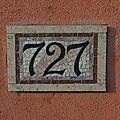 3. plaque de rue