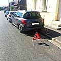 Rue a. lamendin à evin-malmaison : une voiture s'encastre dans celle d'un riverain