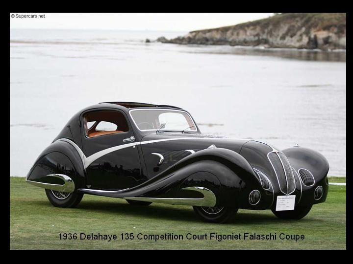 1936 - delahaye 135 Competition Court Figoniet Falaschi Coupe..