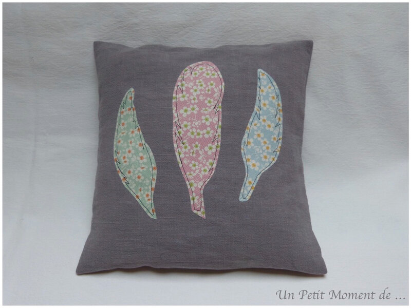 Coussin plume 1