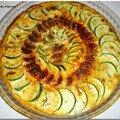 Tarte feuilletée aux courgettes & chorizo