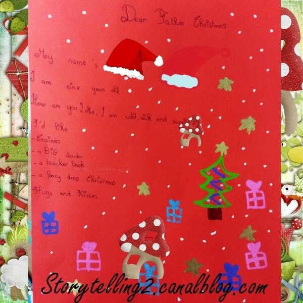 Modele De Lettre Au Pere Noel En Anglais.Sequence Rapide Christmas Cycle 3 Dear Father Christmas