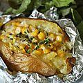 Jacket potatoe ou patata asada selon le pays