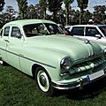 Ford vedette berline, 1952