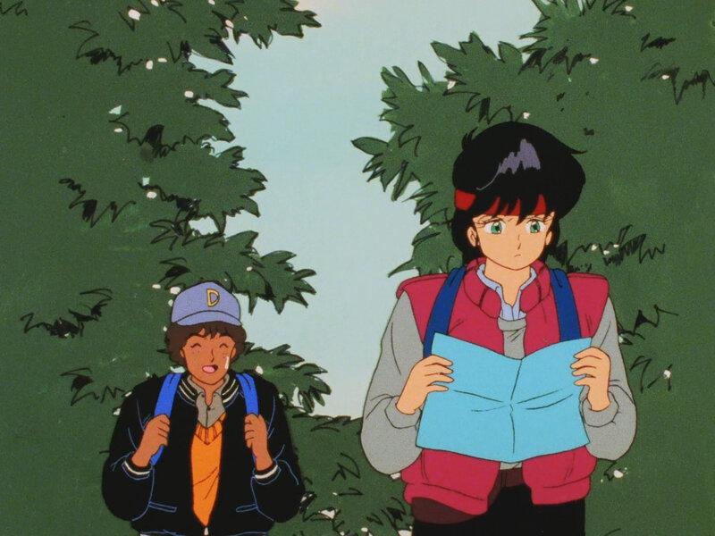 Canalblog Japon Anime Kimagure Orange Road Costumes Rigolos Sport13