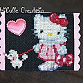 ATC personnages imaginaires Hello Kitty - 2 oct 16