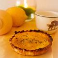 Tartelettes de citron & pavot