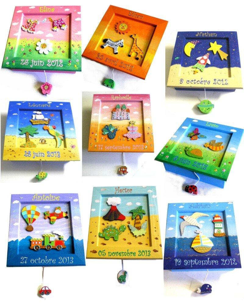 Une id e de cadeau original pour une naissance le tableau Tableau pour chambre d enfant