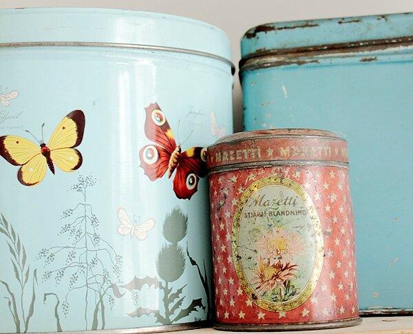 boîtes vintage