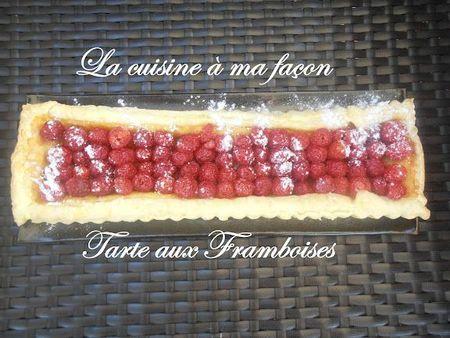 tarte aux framboises1