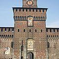 28 - MILAN Castello Sforzesco tour du Filarete - blogspot
