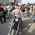 Manifestation des seven's bikes party 2014