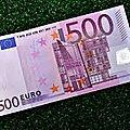 Billet magnétique qui attire l'argent