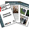 Epic armageddon - le retour de fendi v - règles de campagne